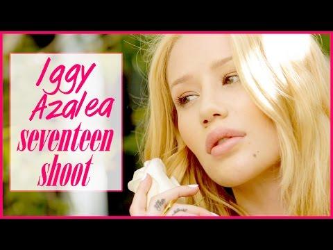 Iggy Azalea Behind the Scenes Cover Shoot