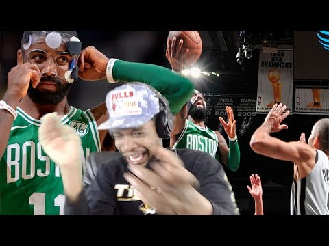KYRIE PUTS ON A SHOW!!! 40 PTS LAST GAME WITH THE MASK!