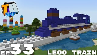 Lego Minecraft Train & Some Beardstone Trolling - Truly Bedrock Season 2 Minecraft SMP Episode 33