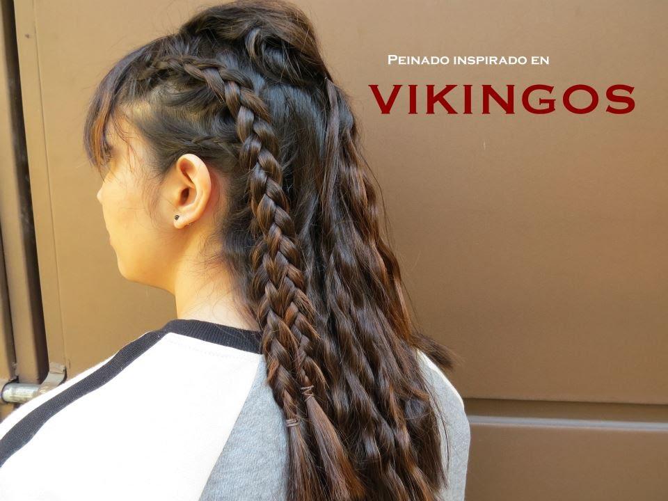 Peinado inspirado en la serie de vikingos como hacer - Como realizar peinados ...