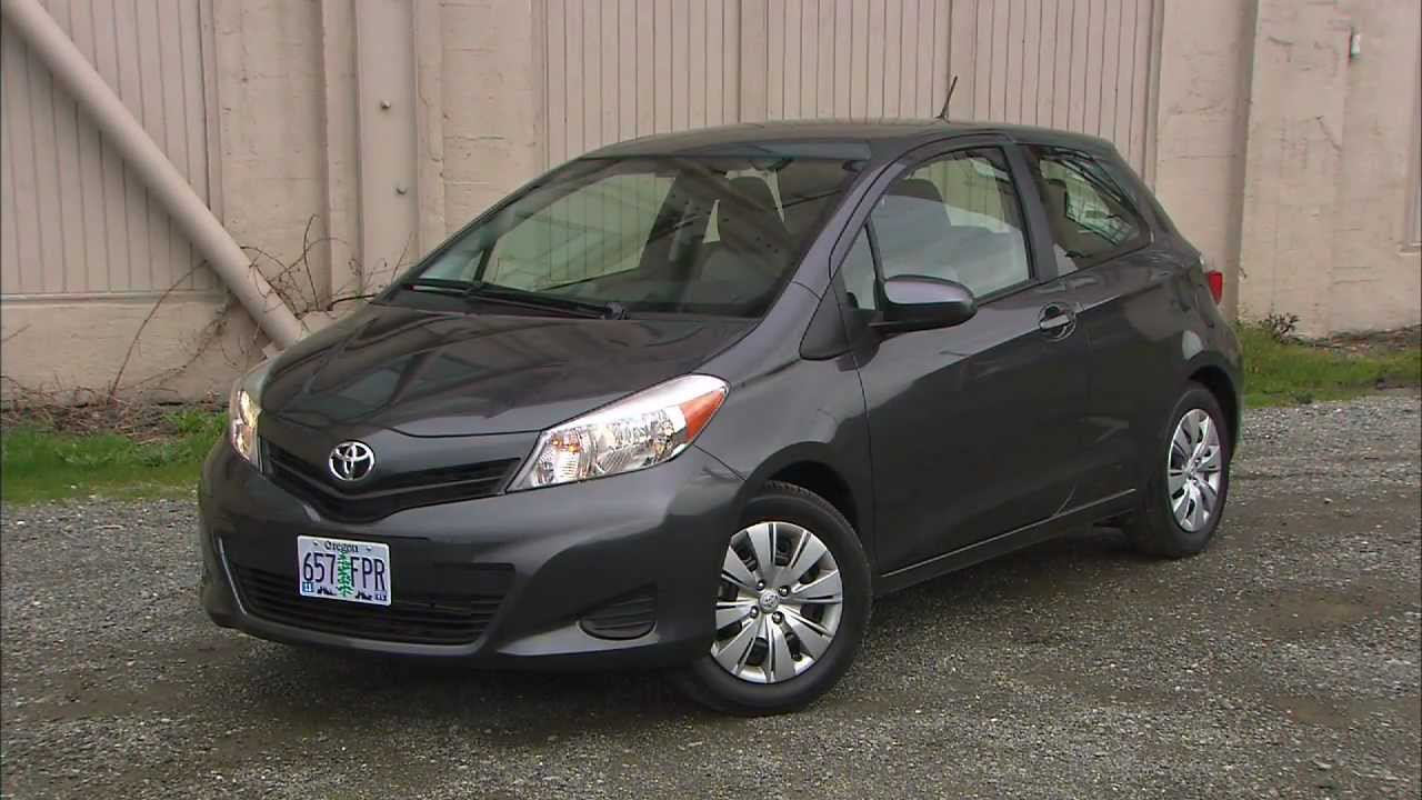 2012 toyota yaris le 3 door youtube. Black Bedroom Furniture Sets. Home Design Ideas