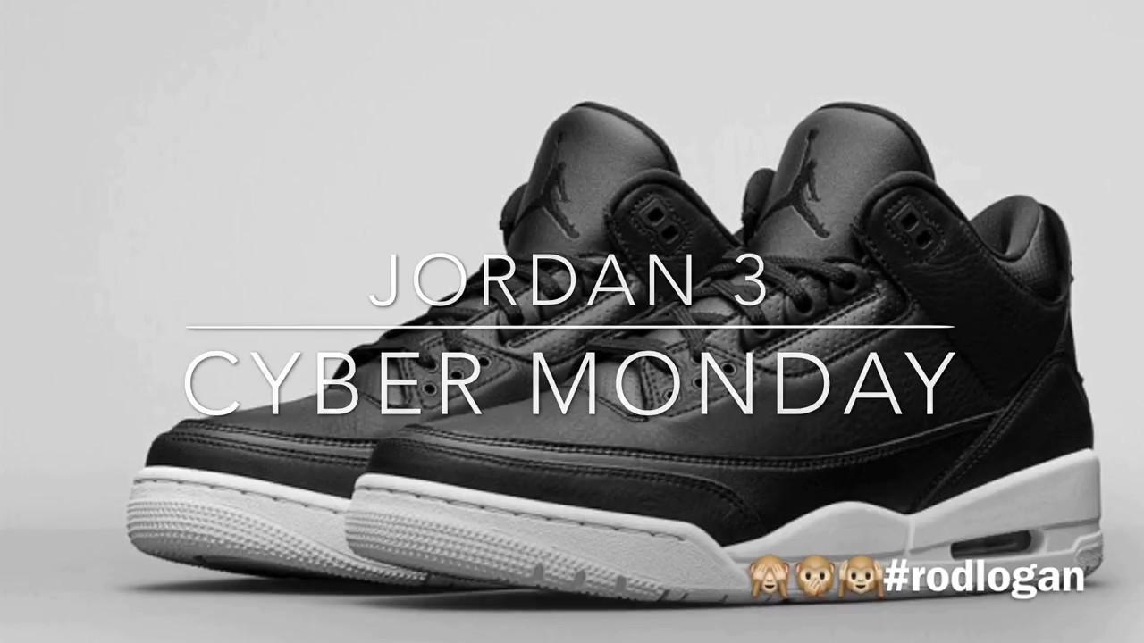 Jordan 3 Cyber Monday Gold Copper