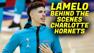 "Lamelo Ball - All Access Hornets Behind the Scenes (Charlotte Hornets ""REEL ACCESS"")"