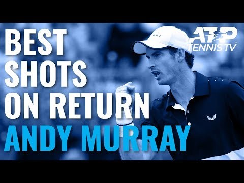 Great Murray Shots on Return to Singles Action | Cincinnati 2019