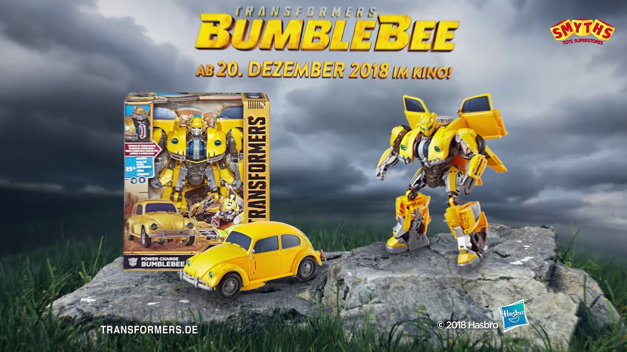 Transformers Bumblebee Power Charge Action Figure 25 Sons CHARGE UP NEW IN BOX
