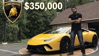 What It Is Like To Own A $350,000 Lamborghini Huracan Performante In 2018 *REVIEW*