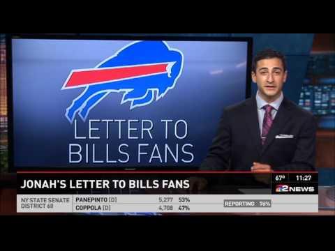 Jonah Javad - Letter to Bills Fans
