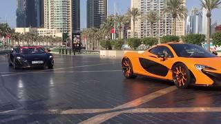 Luxury Cars Parade in Dubai 2015