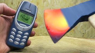 САМЫЙ неубиваемый мобильный телефон всех времен