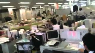Earthquake Japan Mar 11 2011 Ten Minutes Raw Footage by First-hand Eyewitnesses