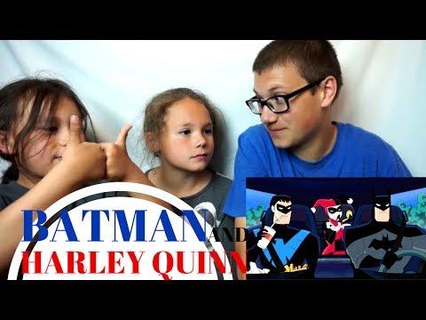 BATMAN AND HARLEY QUINN Official Trailer #2 Reaction!!!