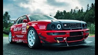 QUATTRO AUDI Big TURBO POWER SOUND