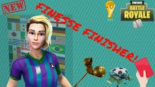 Fortnite Battle Royale | FINESSE FINISHER Skin | Customizable With Countries Flags | All Colors !