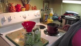 Garlic And Dill Refrigerator Pickles