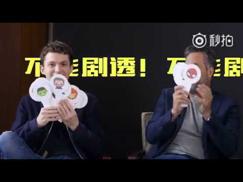 Avengers: Infinity War  Tom Holland and Mark Ruffalo in China