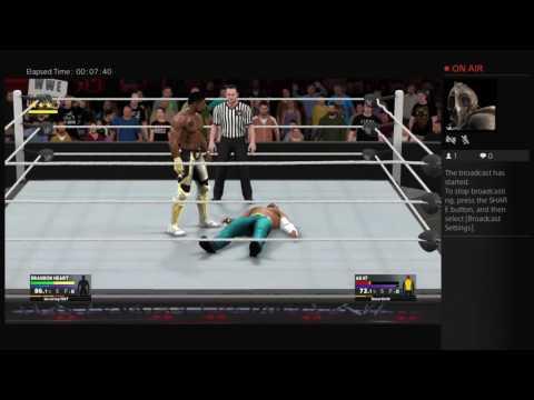 WWE 2K17 recruitment
