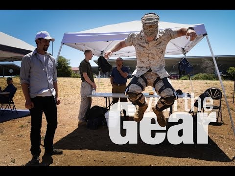 With the Gear — Recon Marines Test the PowerWalk