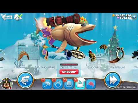 Basking Shark Gameplay [ Hungry Shark World ]