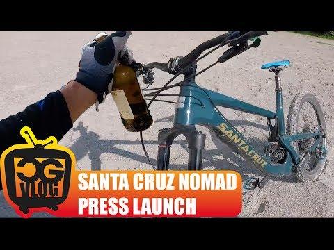 TESTING The New SANTA CRUZ NOMAD - CG VLOG #156