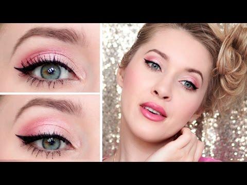 Romantic Date Night Makeup Tutorial ❤ Pink Party Look