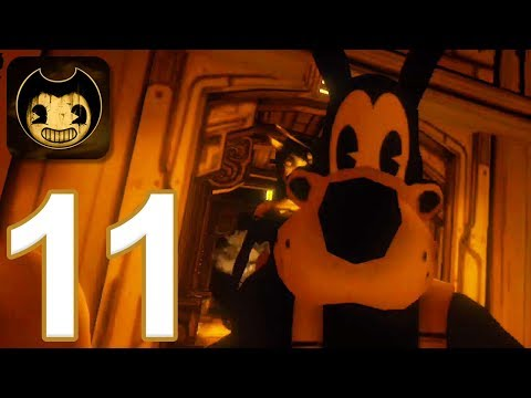 Bendy and the Ink Machine Mobile - Gameplay Walkthrough Part 11 - All Jumpscares (iOS, Android)