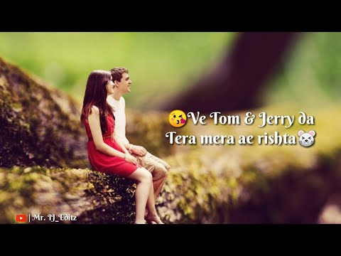 ve-tom-&-jerry-ja-tera-mera-ae-rishta-|-💝love-whatsapp-status💝-|-tiktok-trending-famous-song