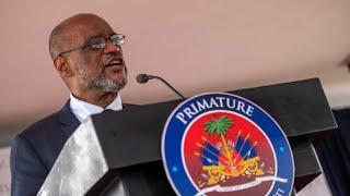 Haiti swears in new prime minister Ariel Henry