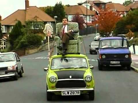 Mr Bean Viaja En Coche Youtube