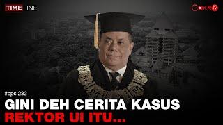 Denny Siregar: GINI DEH CERITA KASUS REKTOR UI ITU...