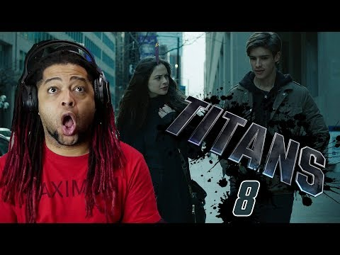 Titans Episode 8 Reaction & Review