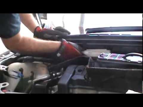 Cambio Del Filtro Antipolen Del Peugeot 307 Youtube