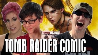Tomb Raider, ComicBookGirl19 & Richard Ryan! | Talkin