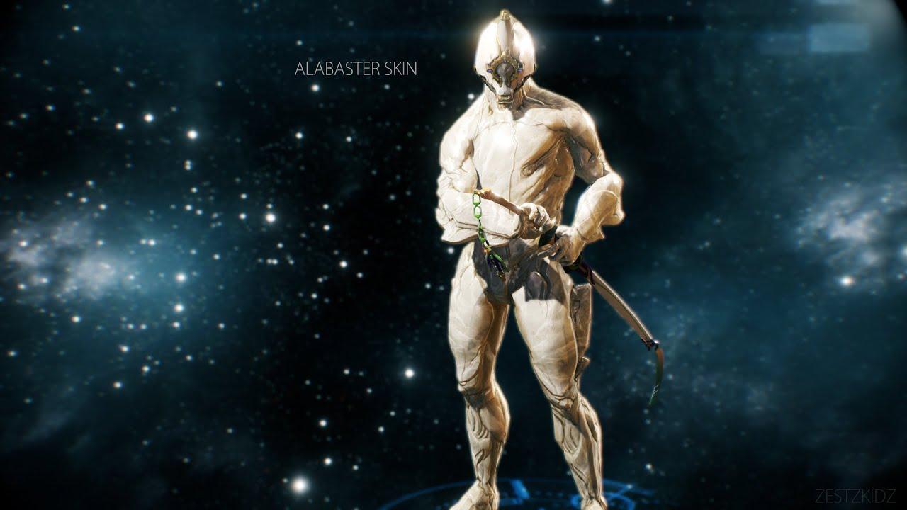 Warframe Excalibur Prime Alabaster Skin