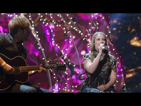 Ella Henderson sings Tinie Tempah's Written In The Stars - Live Week 6 - The X Factor UK 2012