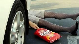 """Doritos Banned Crash The Super Bowl 2013 Part 1 of 2 """"Girl Gets Run Over For Doritos"""""""