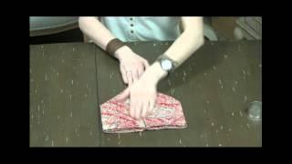 как сложить зайца из салфетки  Интерьерная Лавка