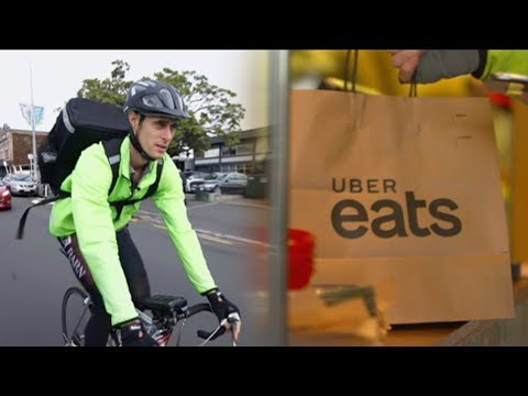 Meet The Auckland Man Who Uses His Uber Eats Delivery Job To Keep