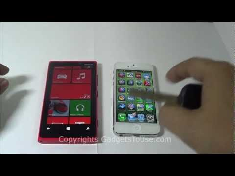 Nokia Lumia 920 Vs iPhone 5 Comparison on Hardware, Software, Build Quality, Camera and More