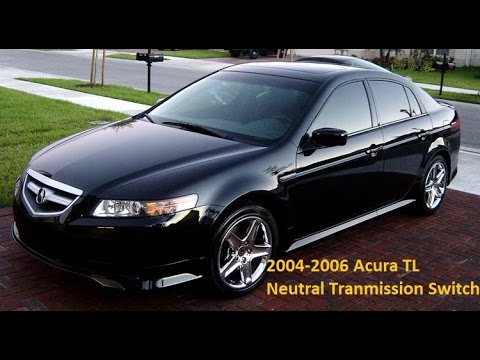 Acura TL Transmission Neutral Switch Replacement YouTube - 06 acura tl transmission