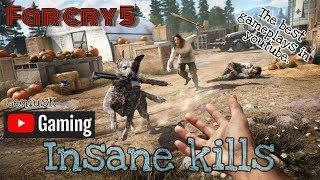 far cry 5 stealth insane kills - best in youtube.
