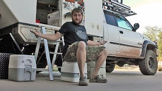 POOPING & CAMPING - 5 different style Toilets for your Van, Truck Camper,  Trailer or RV