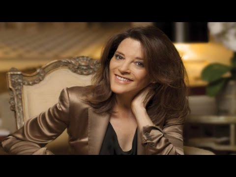 Marianne Williamson chats about Health, Relationships, God + Self-Empowerment