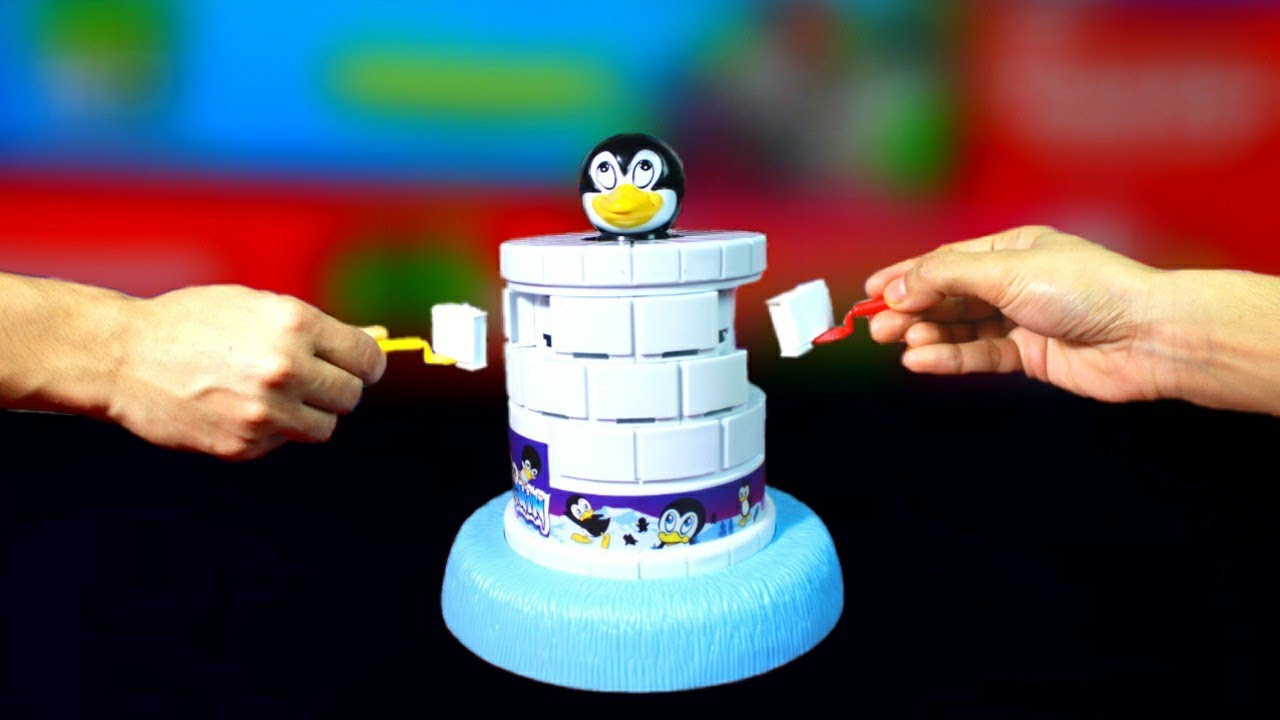 Interesting Family Game, Save the Penguin, Unboxing & Fun