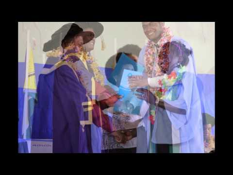 Brief preview of Solomon Islands National University first graduates 2013