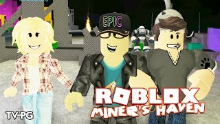 HOW I BECAME A MILLIONAIRE! | Roblox Miner's Haven w/Chrisandthemike & Ashleyosity