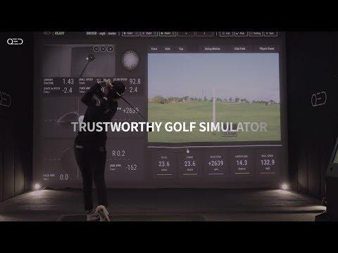 QED 골프 시뮬레이터 TVC (Full.ver 45)