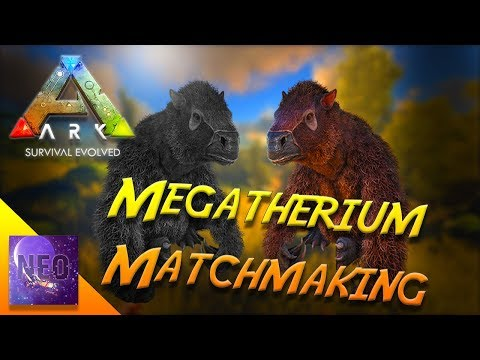 Megatherium Matchmaking - Tag You're It - The Plan for Justice - S4 E18 [ Ark Survival Gameplay ]