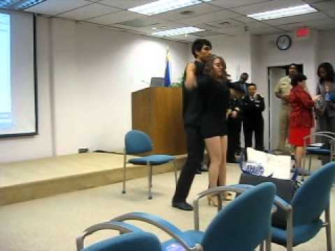 Ritmo DMV Adicto Routine at the National Hispanic Heritage Month Commemorative Program