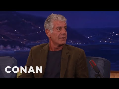 Thumbnail: The Saddest Meal Anthony Bourdain Ever Ate - CONAN on TBS