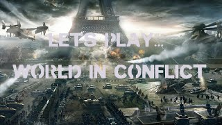 World In Conflict Single Player Battle Commentary #001
